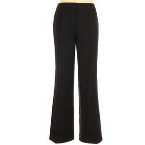 LAFAYETTE 148 NEW YORK Wool Dress Pants Black 10